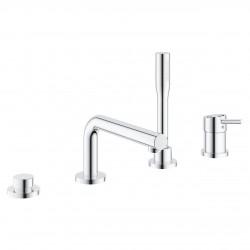 Concetto Combinación monomando para baño y ducha 1/2″