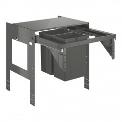 GROHE Blue Sistema de residuos extraíble, armario 60 cm, 2 x 8L