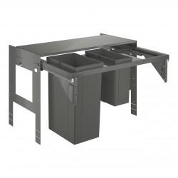 GROHE Blue Sistema de residuos extraíble, armario 90 cm, 1 x 29L + 1 x 11L