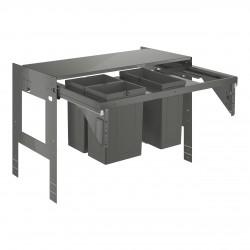GROHE Blue Sistema de residuos extraíble, armario 90 cm, 2 x 8L + 1 x 11L