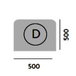 MODULO D    500 x 500