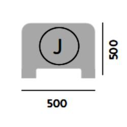 MODULO J  500 x 500 con ventana